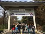 Gruppe vor dem Kukkiwon